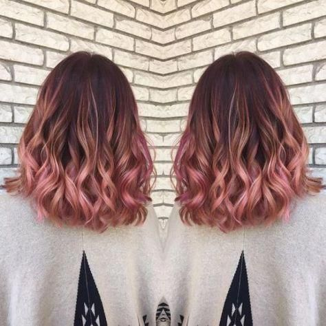 21 Rose Gold Hairstyles You'll Want To Try