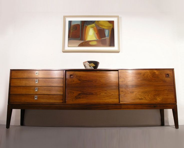 Captivating Robert Heritage For Archie Shine Rosewood Sideboard