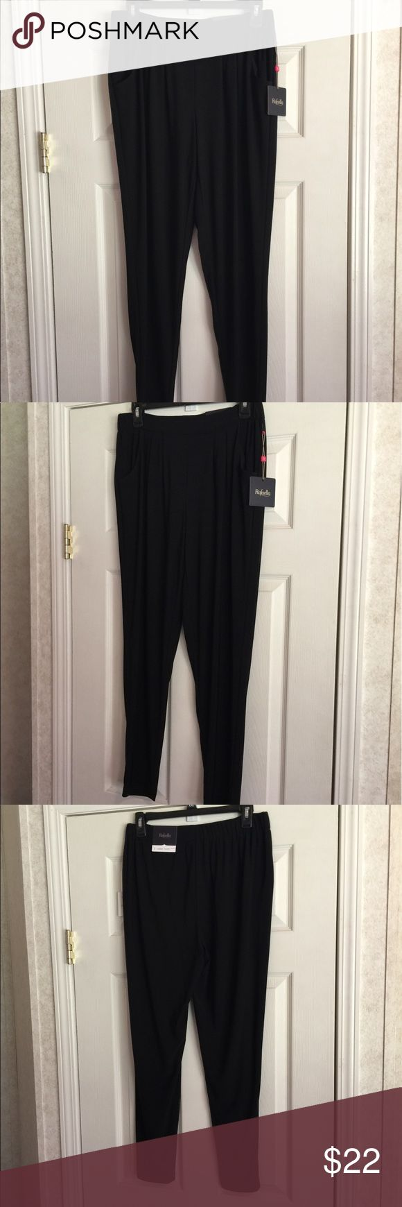 Rafaela Comfort Tapered Leg Pants Waist 14.5....Inseam 27 Rafaella Pants Leggings