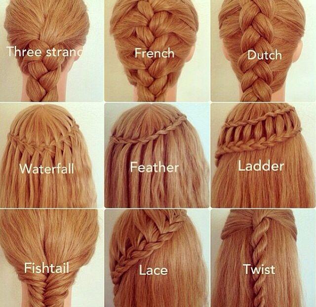Different braid styles