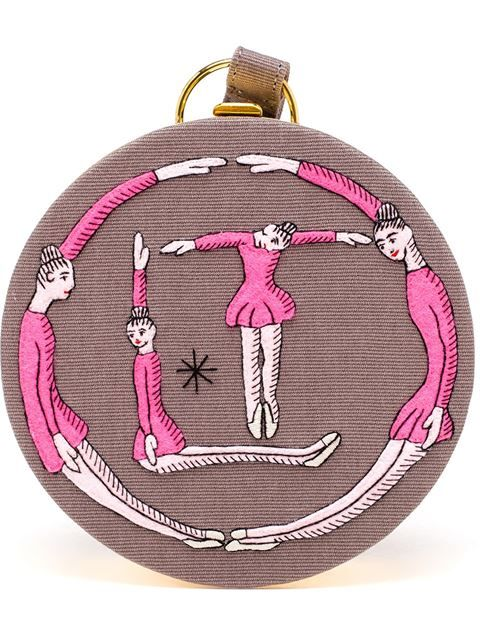 Shop Olympia Le-Tan 'Ballerina drum' bag in Projecteurs from the world's best independent boutiques at farfetch.com. Shop 300 boutiques at one address.