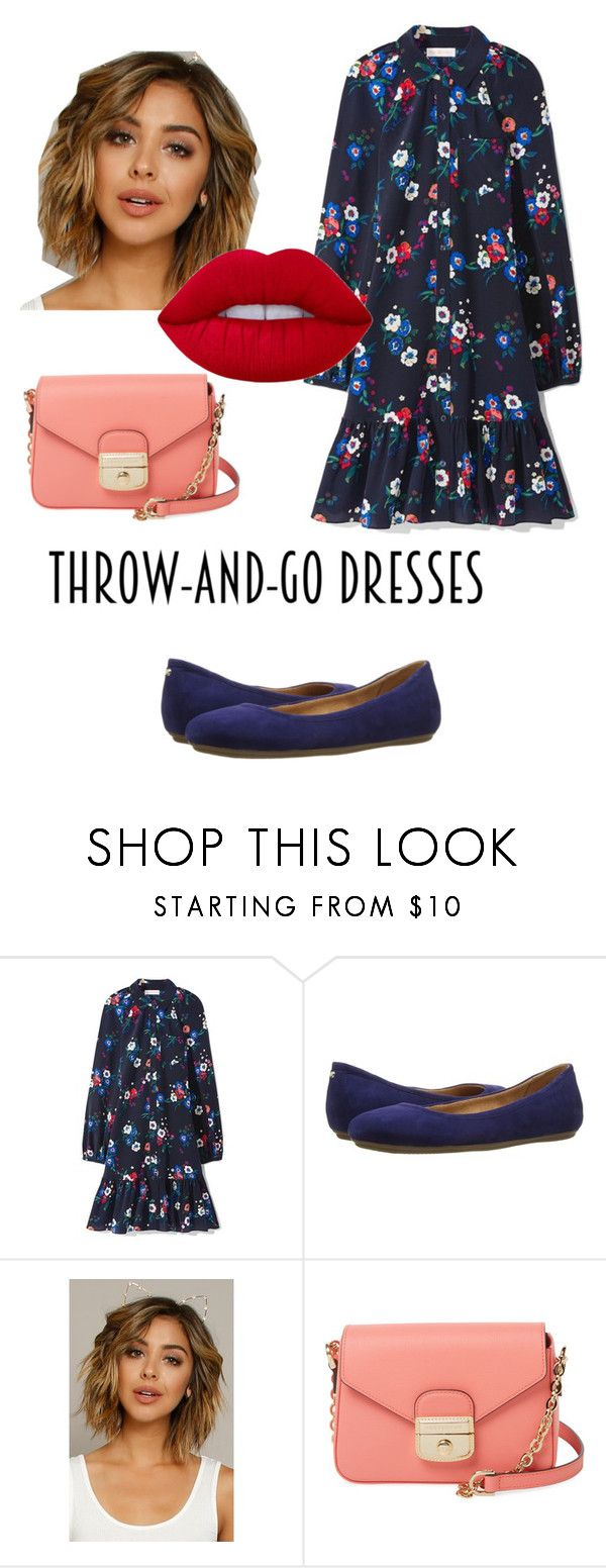 """""""Dress to Go"""" by aleks-stanisavljevic on Polyvore featuring Tory Burch, Naturalizer, Fantasia, Longchamp and Lime Crime"""