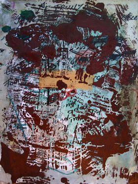 "Saatchi Art Artist remus-lucian stefan; Painting, ""composition 4"" #art"