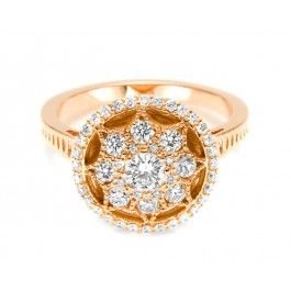 The Tacori FR813PK featured here is available with 18k Gold, 0.80cts tw G/VS.