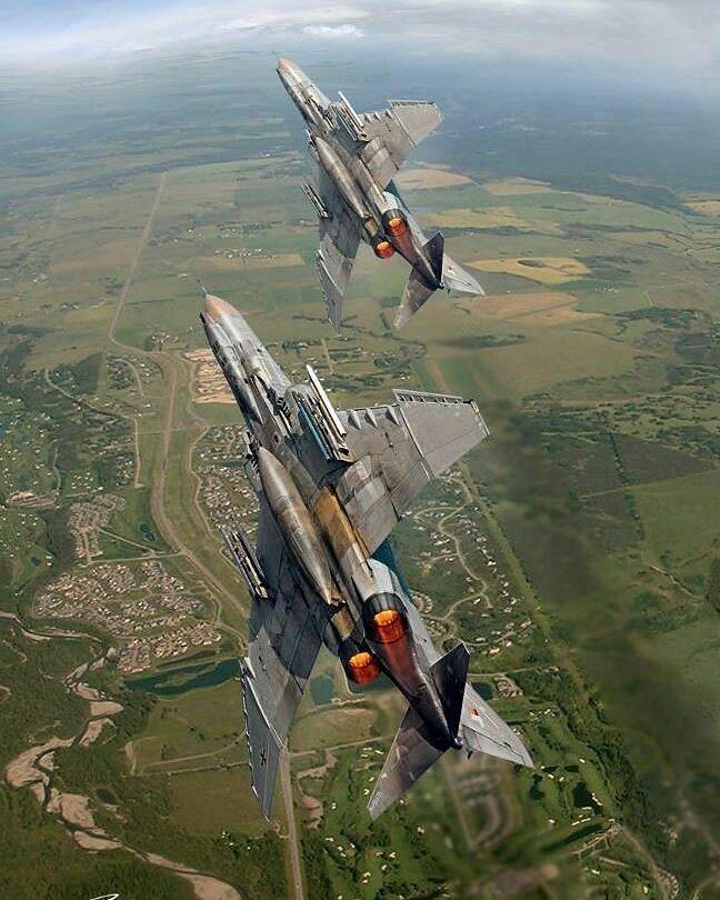 McDonnell-Douglas F-4 Phantoms