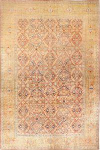 Antique Persian Haji Jalili Silk Tabriz Rug, Country of Origin / Rug Type: Persian Rugs, Circa Date: Late 19th Century 15 ft 8 in x 24 ft 6 in (4.78 m x 7.47 m)