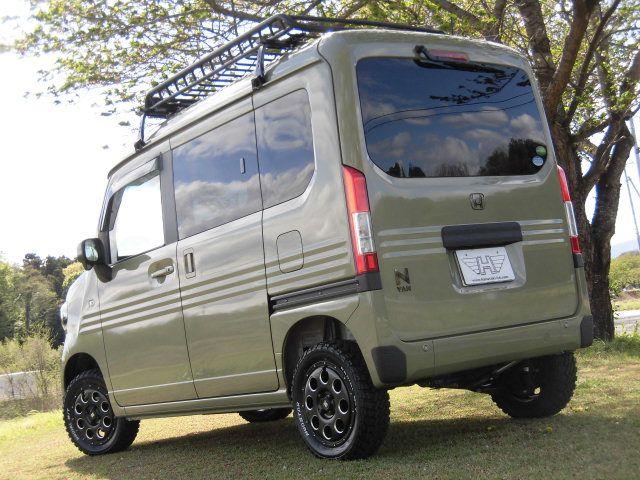 ホンダ N Van オシャレ格好良い軽バンのカスタムにもline X塗装 Line X Auto Japan ホンダ N 軽バン ホンダ