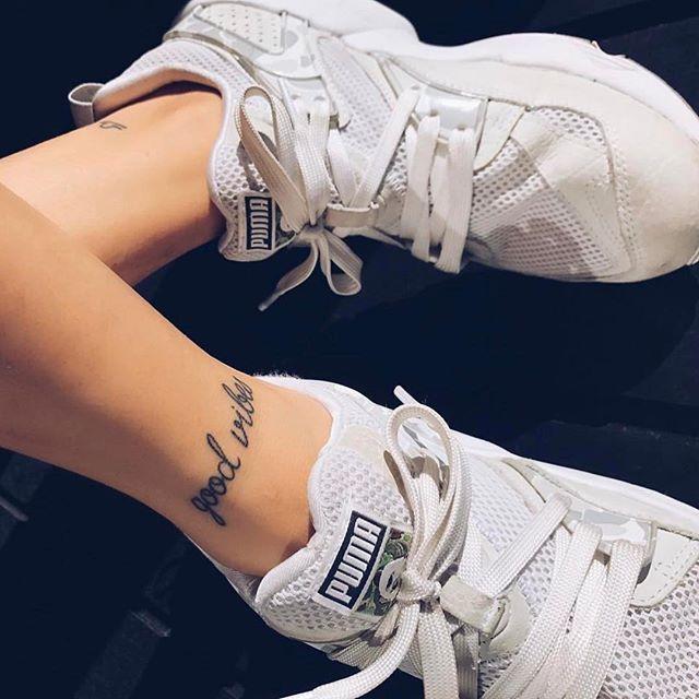 GOOD VIBES  #tattoo #tattoos #littletattoos #smalltattoos #goodvibes #goodvibestattoo