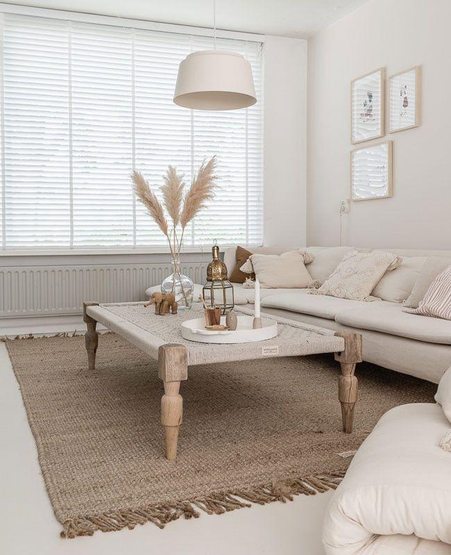 decoration salon beige et blanc 2021