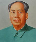 Chinese communist revolutionary Chairman Mao Tse-tung. A tyrant who tried to make himself a god.