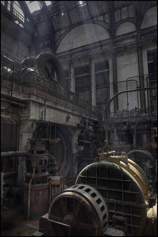 Another look at this abandoned generating station