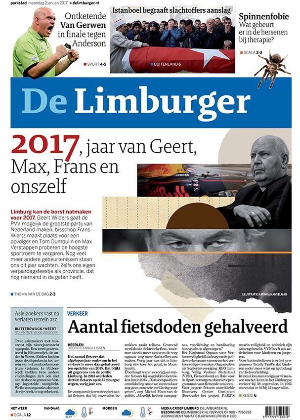 De Limburger, 02-01-2017, 'Vooruitblik 2017'