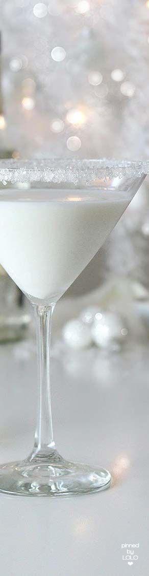 White Chocolate Snowflake Martini | LOLO❤︎