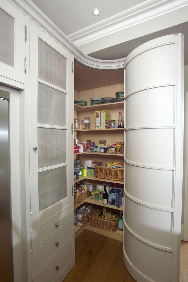 Corner Wrap Around Larder Cupboard Storage House Larder
