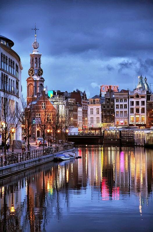 Canales of Amsterdam, Netherlands