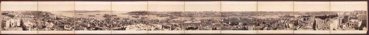 Panorámica de Estambúl desde la Torre de Gálata.