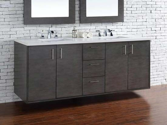 Photo Gallery For Photographers James Martin Metropolitan double Inch Modern Bathroom Vanity Silver Oak