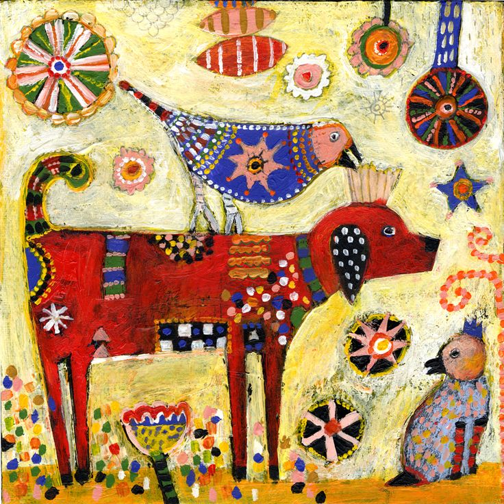 Jill Mayberg imitate use of color and patterns in a creations of your own.