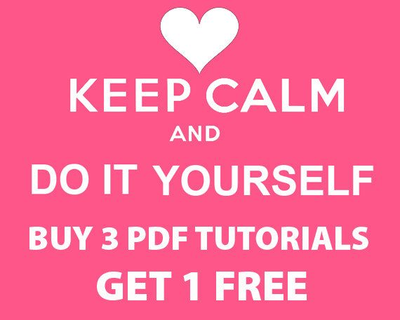 Buy 3 pdf tutorials and get 1 pdf tutorial as gift by vitbich