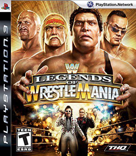 Wwe Legends Of Wrestlemania (ps3)