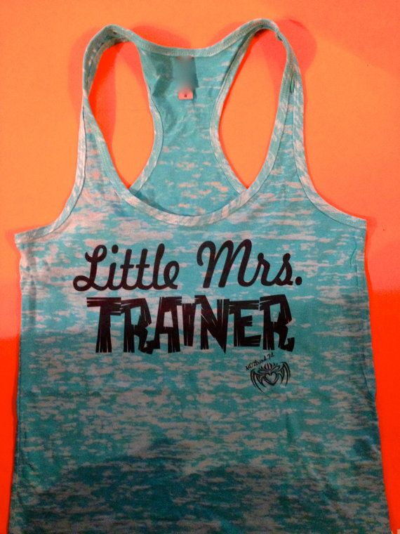 Hey, I found this really awesome Etsy listing at https://www.etsy.com/listing/175144543/fitness-trainer-tank-top-little-mrs