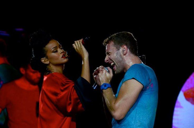 Coldplay ft. Rihanna singing Princess of China