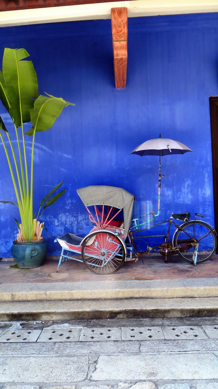 Blue Mansion, Georgetown, Penang, Malaysia #georgetown #malaysia #guide