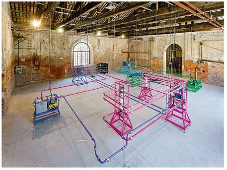 Ayşe Erkmen 'Plan B' #Istanbul #biennial