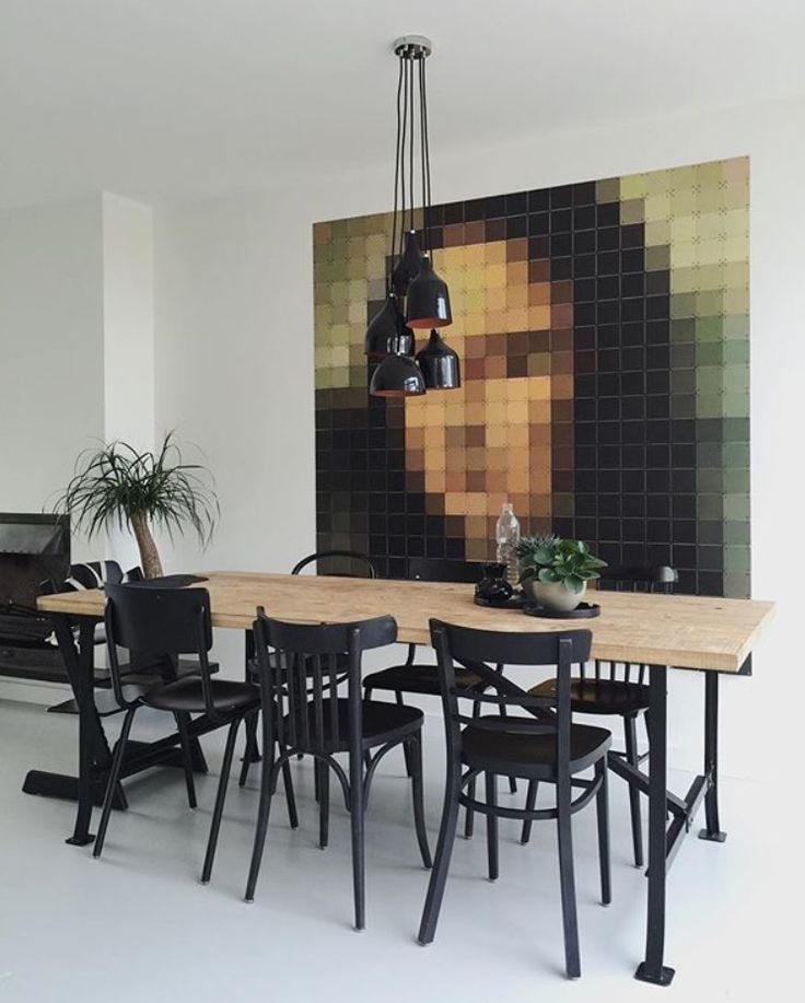 Meet 'Mona Lisa' in pixels in the living room of mamamargaritha! Available in the #IXXI Special Collection. For more information, have a look at our Blog: http://www.ixxidesign.com #ixxidesign #livingroom #inspiration #walldecoration #home #style #interior #monalisa #art #pixel #hominspiration