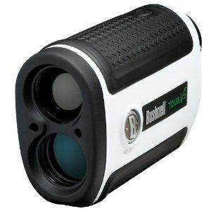 The Bushnell Tour V2 range finder offers incredible accuracy and is one of the most affordable tournament edition golf laser rangefinders out there!