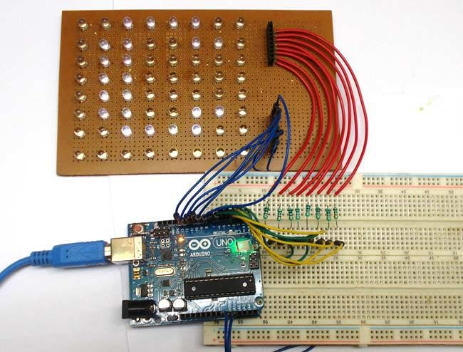 This will be my first Arduino project. Scrolling Text Display on 8x8 LED Matrix using Arduino