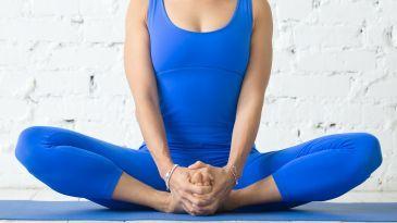 baddha konasana boundangle pose  yoga yoga