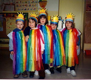 disfraz arco iris
