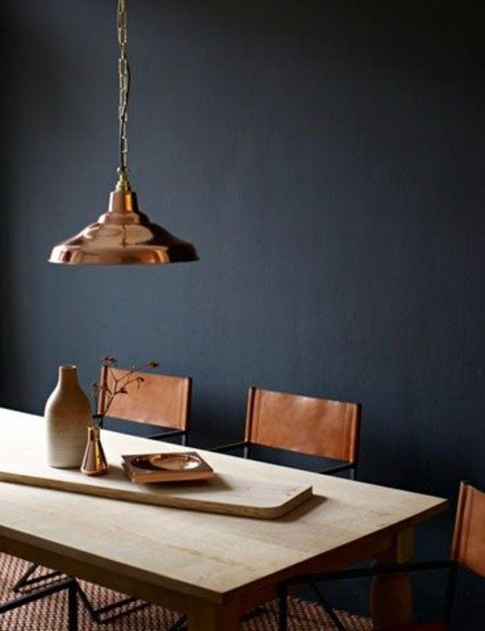 murs de couleurs gris fonc pour la cuisine grise