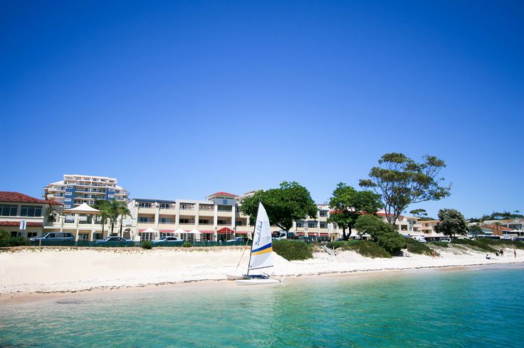 Ramada Resort Shoal Bay | only footsteps away from the white sand & pristine sparkling water