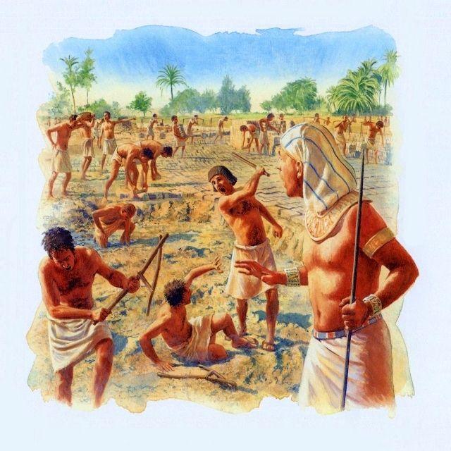 Картинка рабы в египте