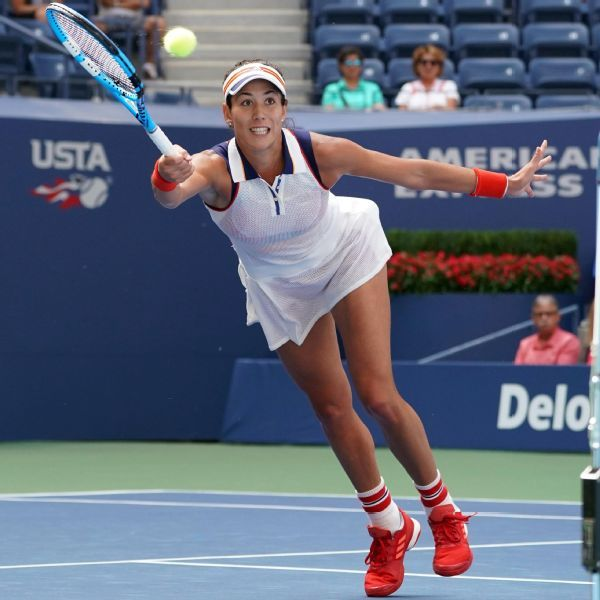 Garbine Muguruza, after reaching the fourth round of the U.S. Open, debuts at No. 1 in the WTA rankings on Monday.