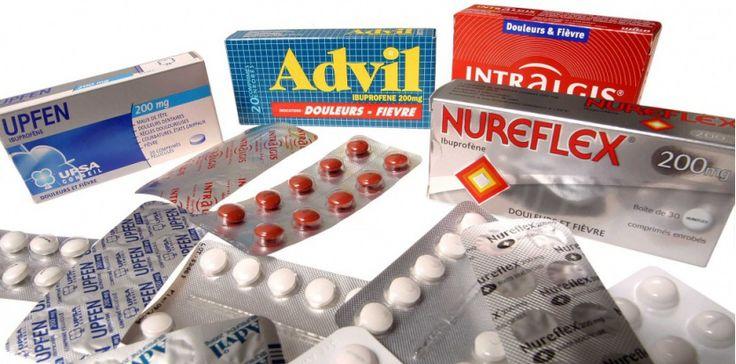 L'ibuprofène est commercialisé depuis les années 1960 sous divers noms commerciaux (Advil, Nurofen, Rhinadvil...) ©RACKAM/RACKAM/SIPA