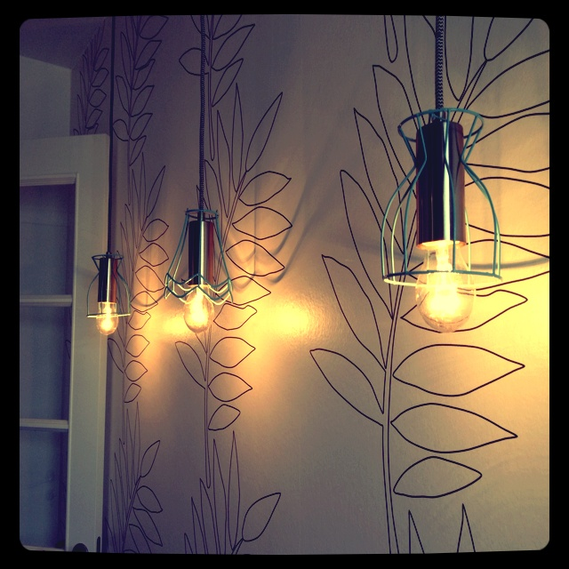 My home made lamps