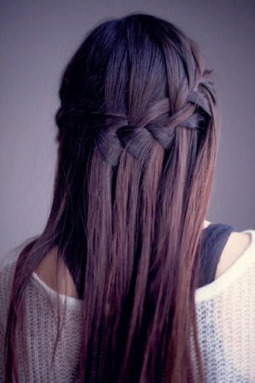 Winter Ombre With Purple Tint Hair Pinterest Water