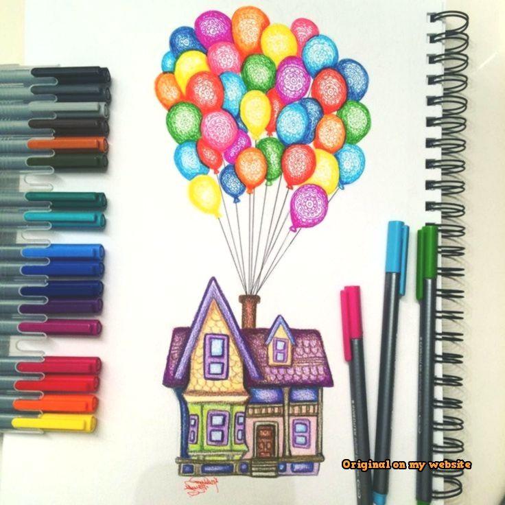 Kunst Zeichnungen Carl S House Drawing By