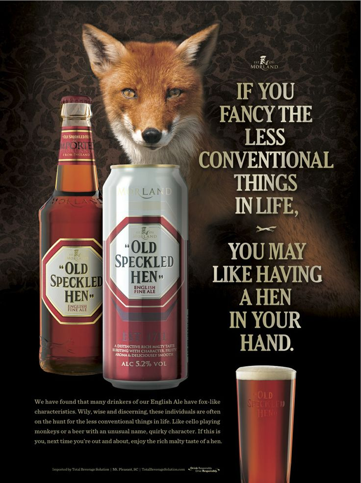 Old Speckled Hen.