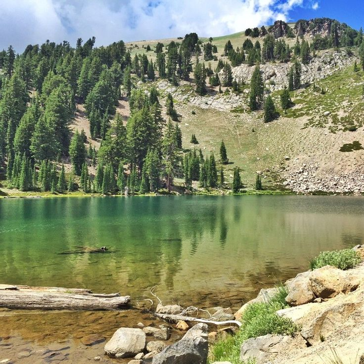 Emerald Lake, Lassen Volcanic National Park -Are you planning a trip to Lassen Volcanic National Park? Take Chimani with you! We develop 100% free mobile app travel guides for national parks and other outdoor destinations. No cell connection required! Download our apps for iOS and Android at http://www.chimani.com or in the App Store or on Google Play #TravelDestinationsUsaGooglePlay