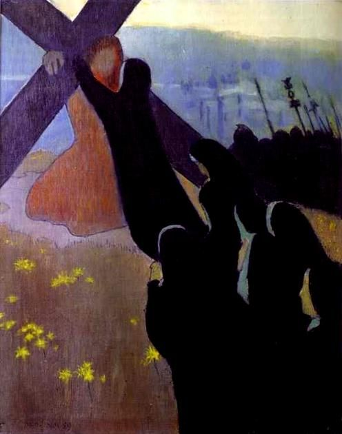 The Road to Calvary by Maurice Denis