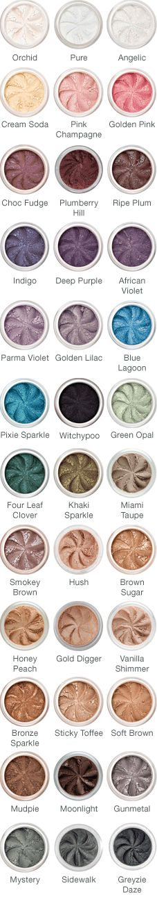 Lily Lolo Eyeshadow. I like a lot of these.