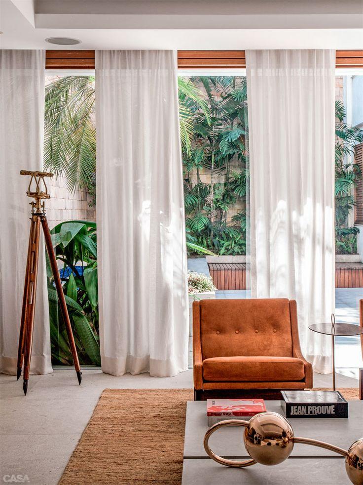 17 melhores imagens sobre cortinas pano de sombra no - Cortinas para casa de campo ...