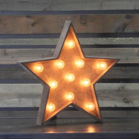 Edison marquee symbol star town country event rentals