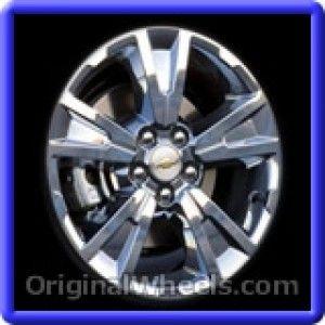 Chevrolet Equinox 2010 Wheels & Rims Hollander #5435  #Chevrolet #Equinox #ChevyEquinox #2010 #Wheels #Rims #Stock #Factory #Original #OEM #OE #Steel #Alloy #Used
