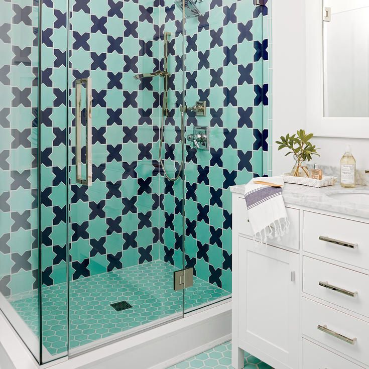 6 Inspiring Bathroom And Kitchen Tile Ideas From The Hamptons Showhouse. Coastal  Living ...