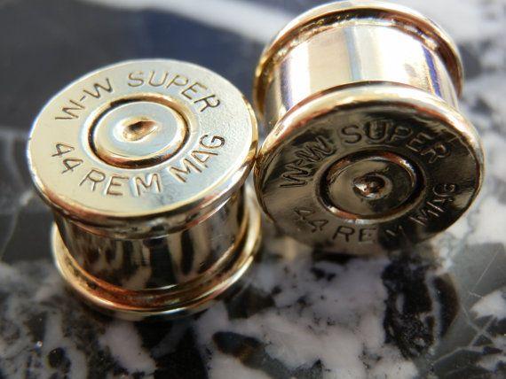 44 Magnum Ear Plugs on Etsy, $23.00